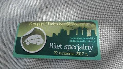 specjalny bilet