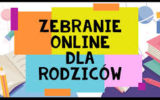 Konsultacje online rodziców z nauczycielami przedmiotów